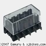 xj650 blog Littlefuse 5 gang fuse box