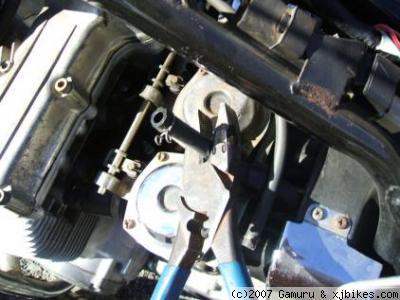 xj650 blog cut fuel lines